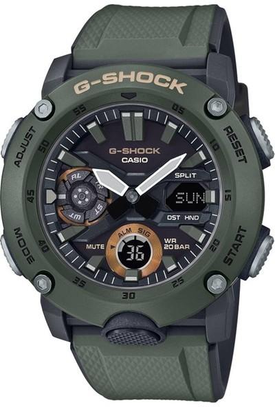Casio G-SHOCK GA-2000-3ADR Erkek Kol Saati