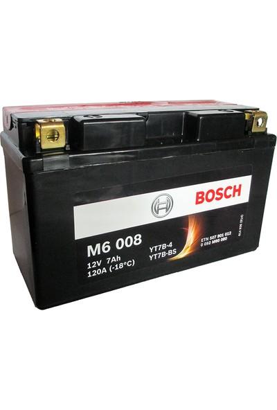 Bosch 7 Amper AGM Motosiklet Aküsü M6008