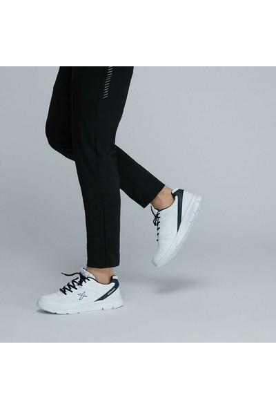Kinetix Kalen Tx Beyaz Lacivert Erkek Koşu Ayakkabısı