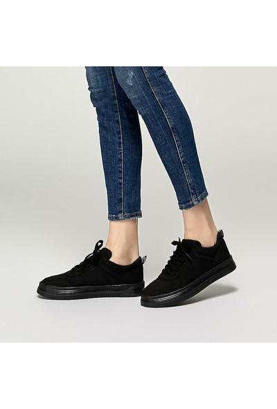 U.S. Polo Assn. Dimler Siyah Kadın Sneaker Ayakkabı