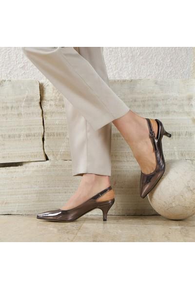 Butigo Mara87Z Lame Kadın Topuklu Ayakkabı 349