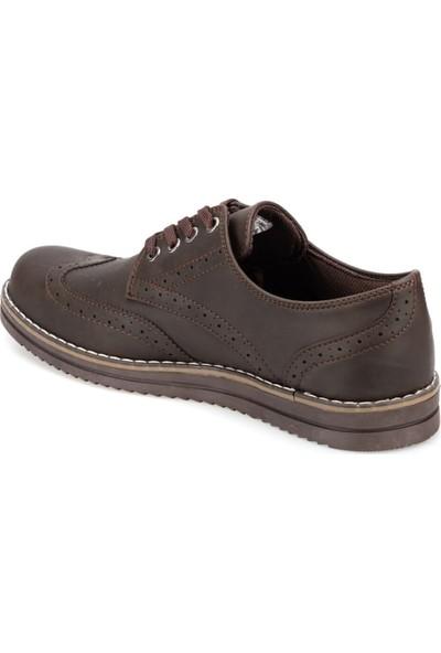Polaris 91.353617.M Kahverengi Erkek Zımbalı Ayakkabı