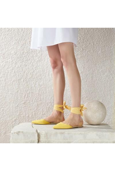 Butigo Red51Z Sarı Kadın Babet