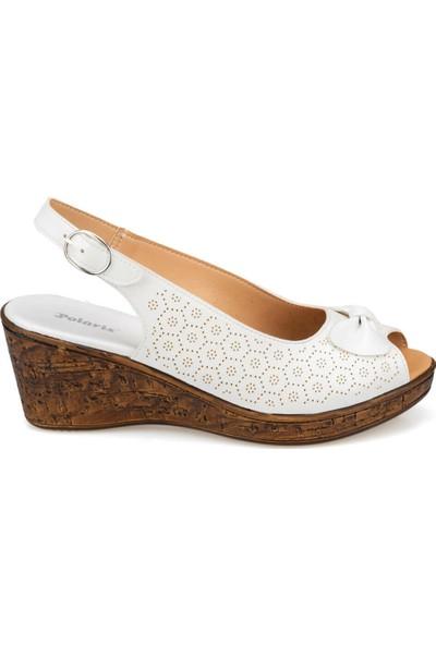 Polaris 91.157201.Z Beyaz Kadın Sneaker Ayakkabı