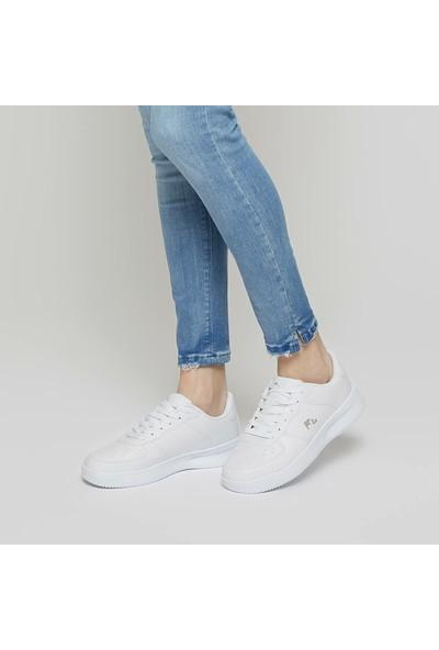 Lumberjack Finster Wmn Beyaz Kadın Sneaker Ayakkabı