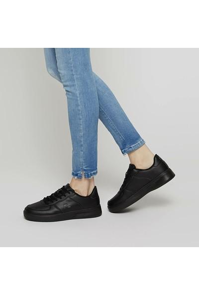 Lumberjack Finster Wmn Siyah Siyah Kadın Sneaker Ayakkabı
