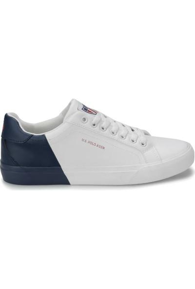 U.S. Polo Assn. Lexi Beyaz Laci Erkek Sneaker Ayakkabı