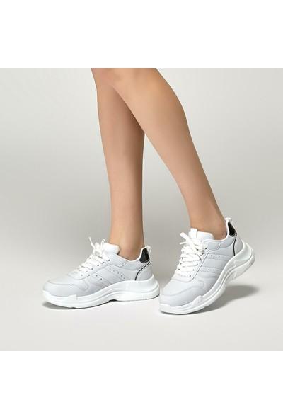 Kinetix Paleo Beyaz Kadın Spor Ayakkabı