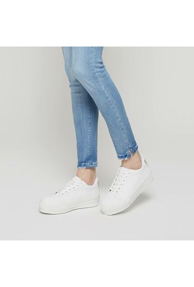 Polaris 91.313366.Z Beyaz Kadın Sneaker Ayakkabı