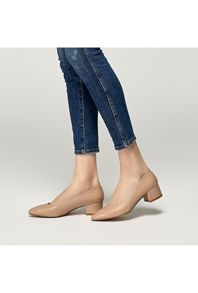 Polaris 91.313092.Z Bej Kadın Gova Ayakkabı