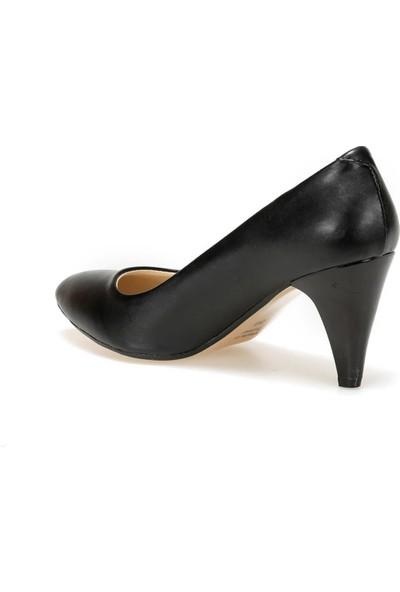 Polaris 91.309022.Z Siyah Kadın Gova Ayakkabı