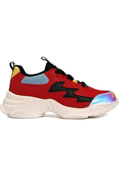 Hammer Jack Kırmızı Kadın Ayakkabı 381 485Zn-Z