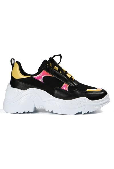Hammer Jack Siyah Kadın Ayakkabı 570 Sx29-Z
