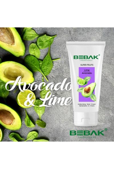 Bebak Super Fruits El Kremi Lime And Avocado 40 ml
