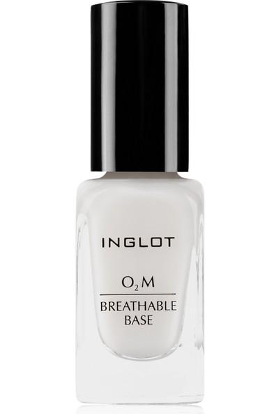 Inglot O2M Tırnak Bazı-Breathable Base