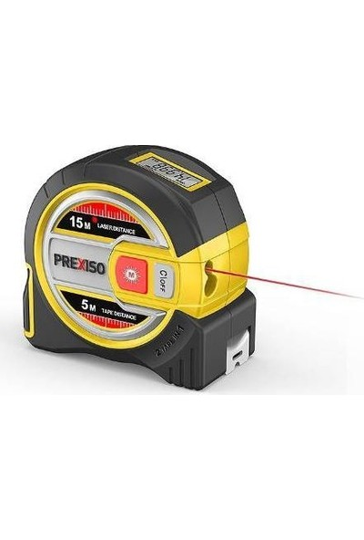 Prexiso Leica Prexıso Plt15 Lazer Şerit Metre 15 Mt