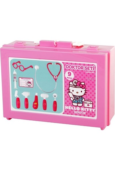 Pilsan Hello Kitty Çantalı Doktor Seti