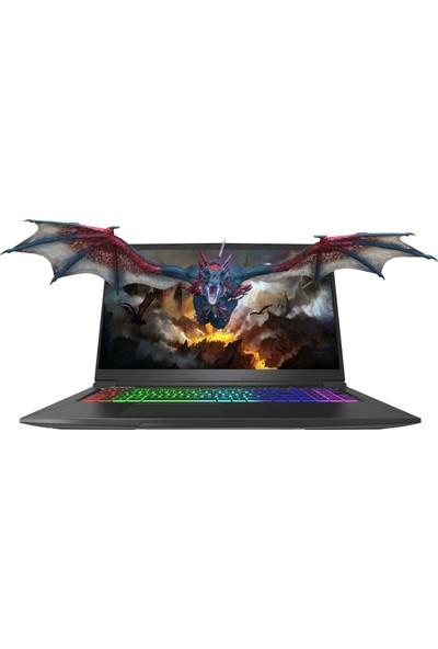 "Monster Abra A7 V11.1 Intel Core i7 9750H 8GB 256GB SSD GTX1650 Freedos 17.3"" FHD Taşınabilir Bilgisayar"