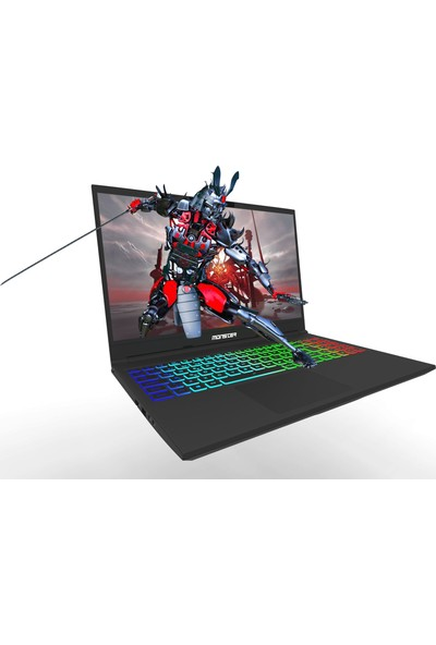 "Monster Tulpar T5 V19.1.1 Intel Core i7 9750H 16GB 1TB + 256GB SSD GTX1660Ti Windows 10 15.6"" FHD Taşınabilir Bilgisayar"