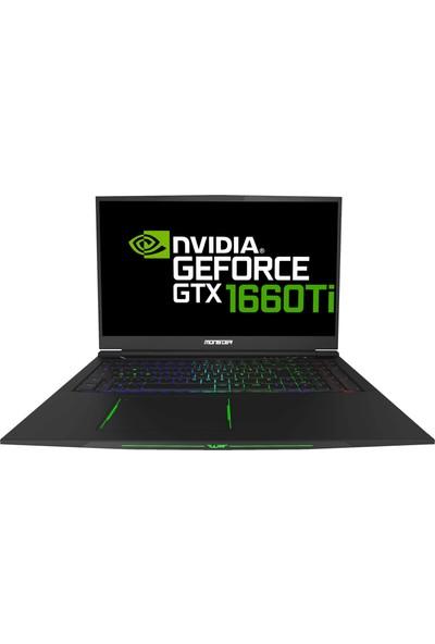 "Monster Tulpar T7 V19.3.1 Intel Core i7 9750H 16GB 1TB + 256GB SSD GTX1660Ti Windows 10 17.3"" FHD Taşınabilir Bilgisayar"