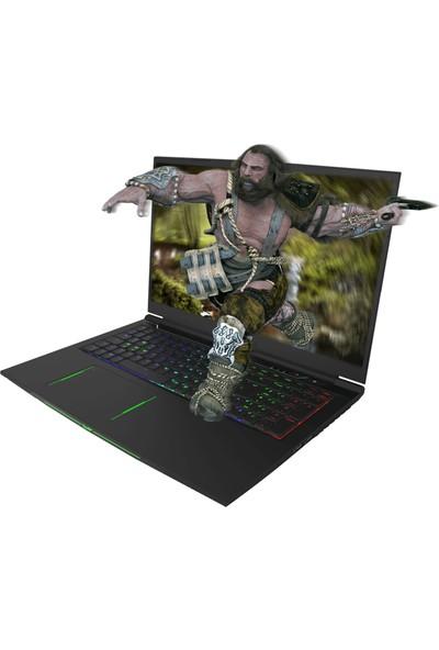 "Monster Tulpar T7 V19.5.1 Intel Core i7 9750H 16GB 1TB + 256GB SSD RTX2070 Windows 10 17.3"" FHD Taşınabilir Bilgisayar"