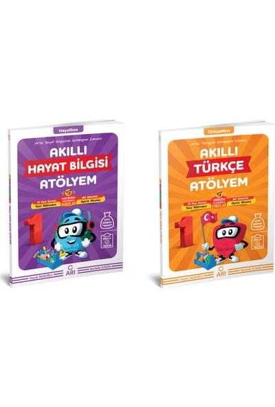 Arı Yayıncılık Akıllı Türkçe Hayat Bilgisi Atölyem Set 1. Sınıf