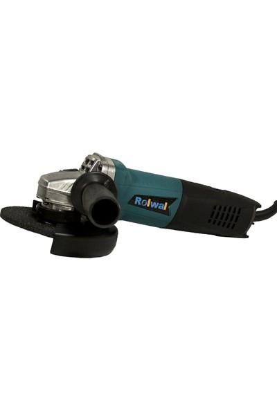 Rolwal 1010 W Devir Ayarlı Professional Avuç İçi Taşlama Makinası 125 mm