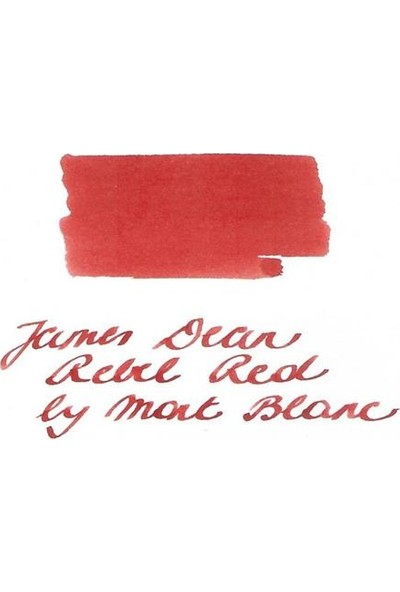 Montblanc James Dean Şişe Mürekkep Rebel Red 118211