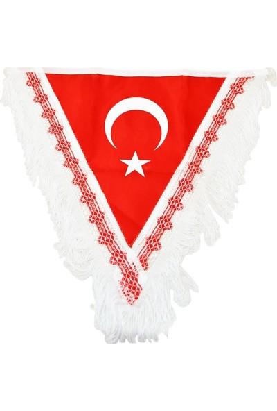 ModaCar Large 45x40 cm Flama Türk Bayrağı 061189