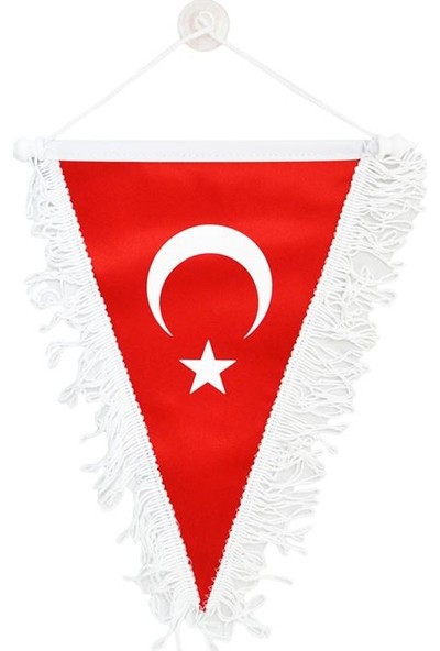 Modacar Flamalı Vantuzlu Türk Bayrağı 30 Cm 425107