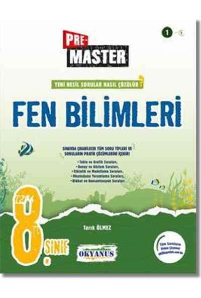 Okyanus Yayınları 8. Sınıf Pre-Master Fen Bilimleri Soru Bankası