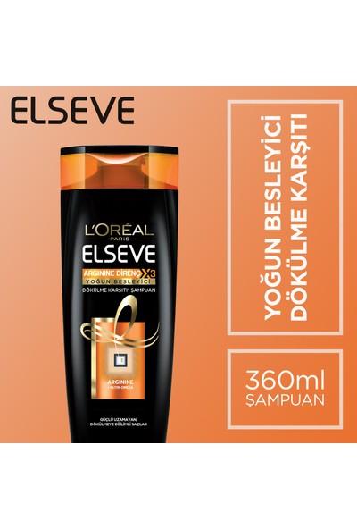 Elseve Arginine Direnç X3 Nutri Omega Dökülme Karşıtı Şampuan 360 Ml