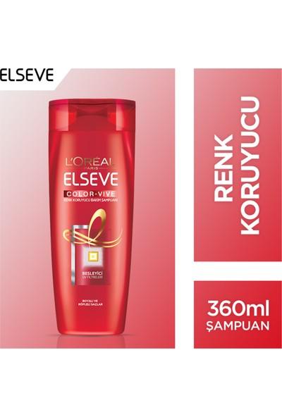 L'Oréal Paris Elseve Color Vive Boyalı Saçlar için Şampuan 360 Ml