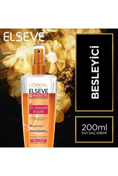 L'Oréal Paris Elseve 6 Mucizevi Yağ Ekspres Bakım Spreyi 200 ml