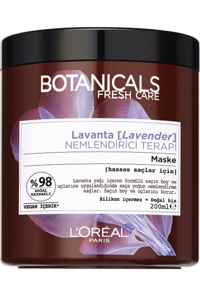 Botanicals Fresh Care Lavanta Nemlendirici Terapi Maske 200 Ml