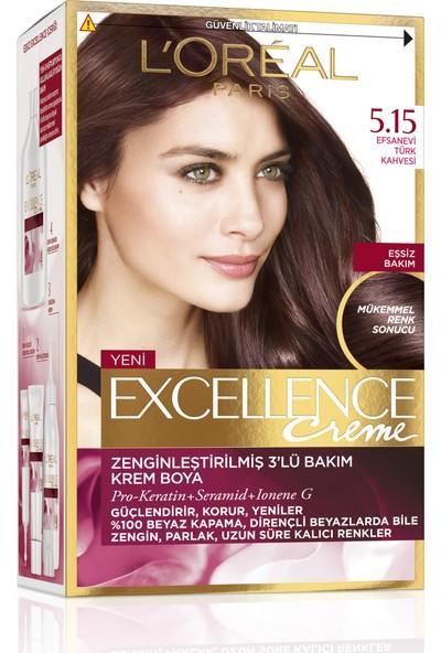 L'oréal Paris Excellence Creme Saç Boyası 5.15 Efsanevi Türk Kahvesi