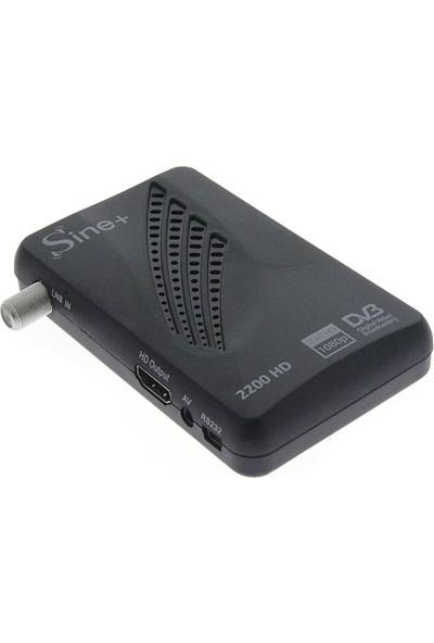 Sine Plus 2200 Hd Mini Uydu Alıcısı