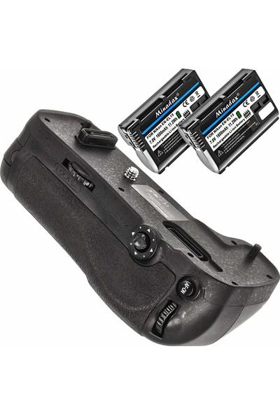 Minadax Profesyonel Pil Tutamağı (Battery Grip) - Nikon D500 İçin