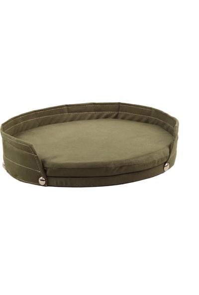 Minik Patiler Pet Küçük Irk Köpek Yatağı Yeşil