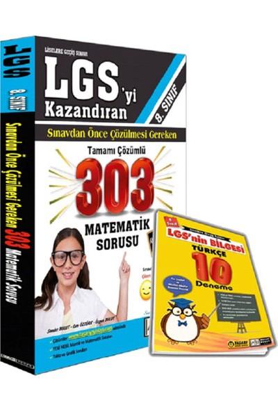 Lgs Çözülmesi Gereken 303 Matematik Sb Ve 10 Türkçe Deneme Seti