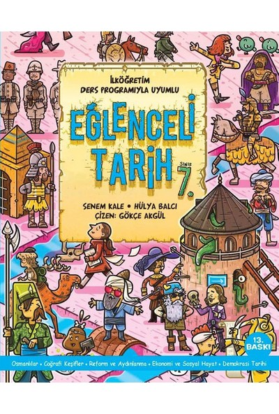 7. Sınıf Eğlenceli Tarih Doğan Egmont Yayıncılık - Hülya Balcı