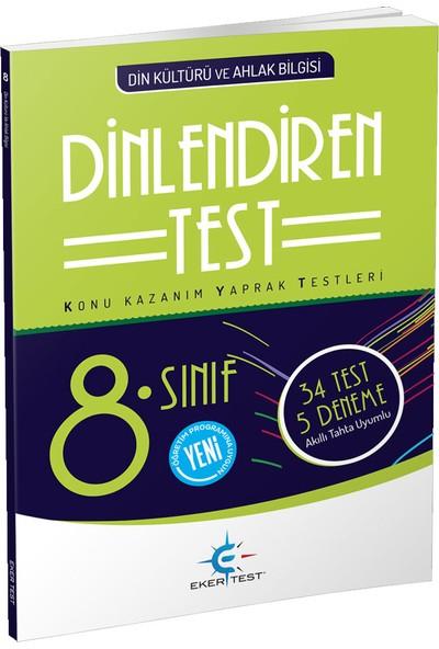 8 Sınıf Din Kültürü Akıllı Dinlendiren Test Eker Yayınları - İzzet Eker