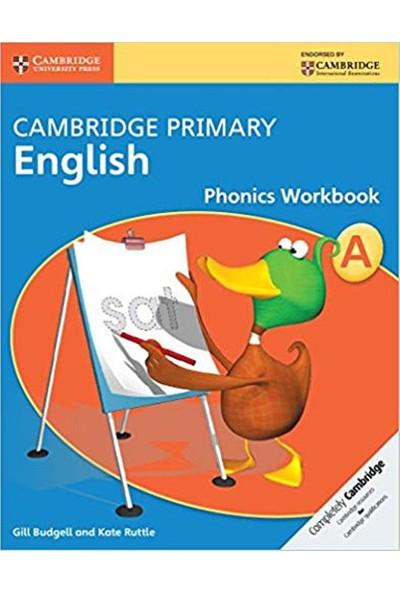 Cambridge Primary English Phonics Workbook A Cambridge - Gill Budgell - Kate Ruttle