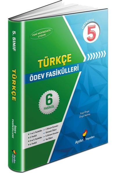 5 Sınıf Türkçe Ödev Fasikülleri Aydın Yayınları - Ezgi Öne