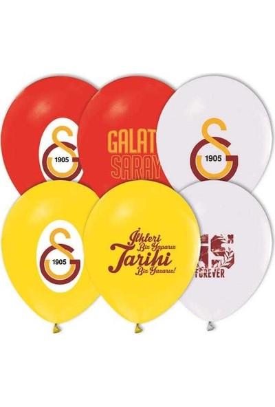 Tahtakale Toptancısı Balon Baskılı lisanslı 12 İnc 4+1 Galatasaray 50 Adet