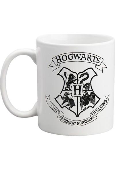 Başak Su Hediye Dükkanı Harry Potter Beyaz Kupa Bardak