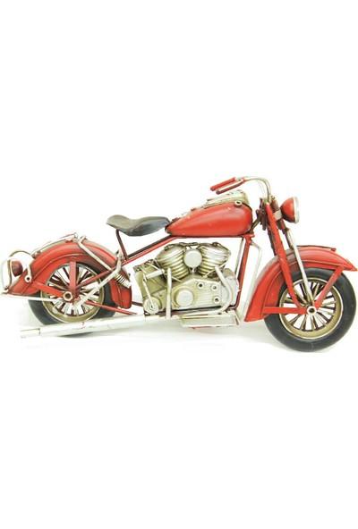 Hediye Biziz Chopper Dekoratif Metal Motosiklet