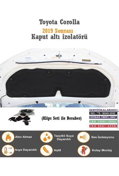 Öz-İş Toyota Corolla Kaput İzolatörü (2019 Sonrası)