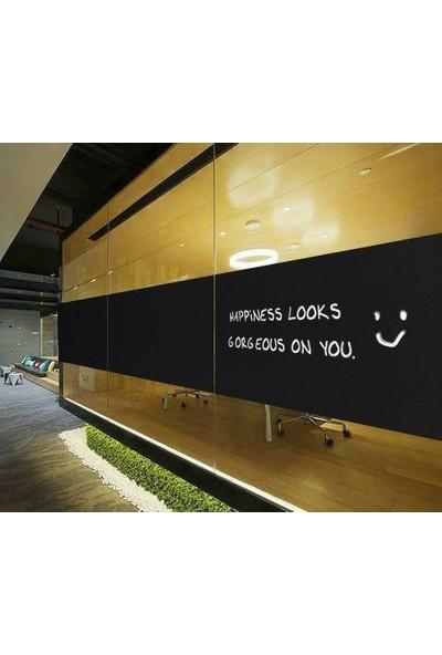 Suntek Ev Ofis Bina Dekoratif Cam Filmi Siyah Kumlama Folyosu
