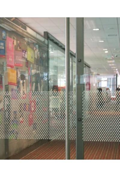 Suntek Dekoratif Cam Filmi Ev Ofis Bina Buzlu Şerit Kumlama Folyosu